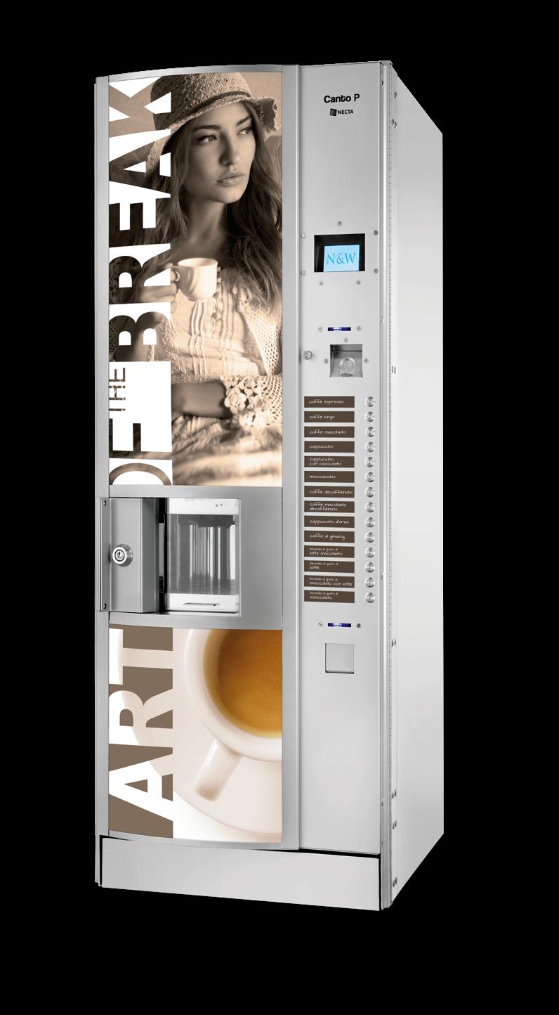 Máquina expendedora vending de café: CANTO P