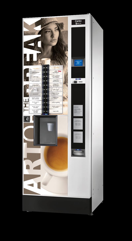 Máquina expendedora vending de café: CANTO