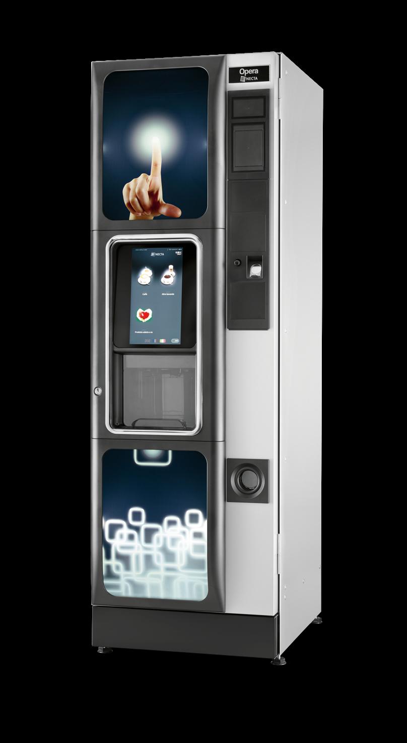 Máquina Vending Café: OPERA TOUCH