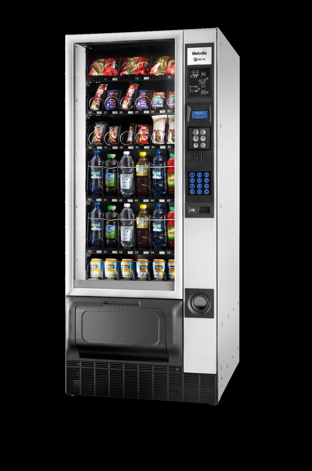 Máquina vending de alimentos y bebidas: MELODIA