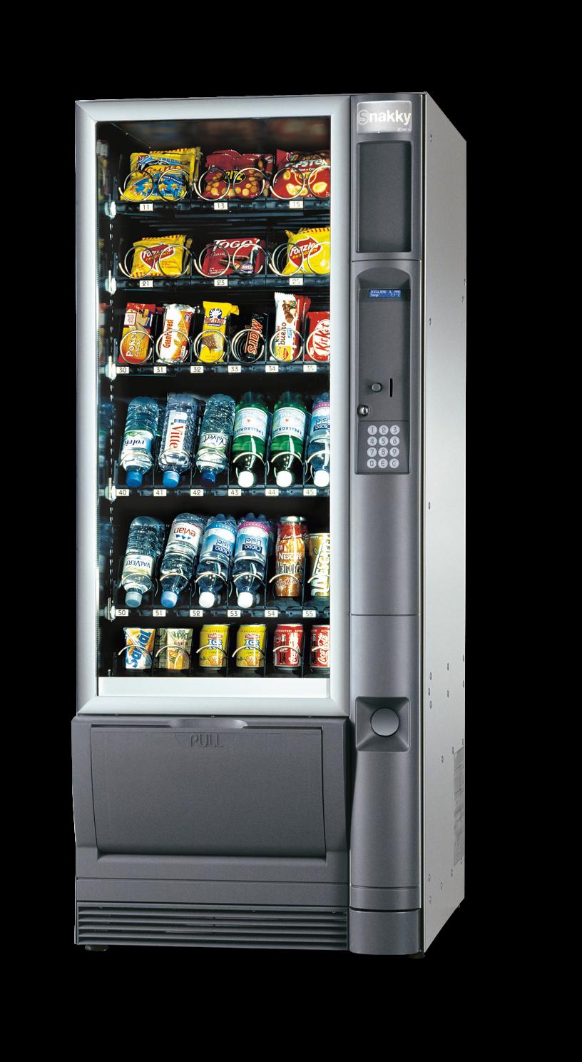 Máquina Vending Alimentos y Bebidas Frías: SNAKKY
