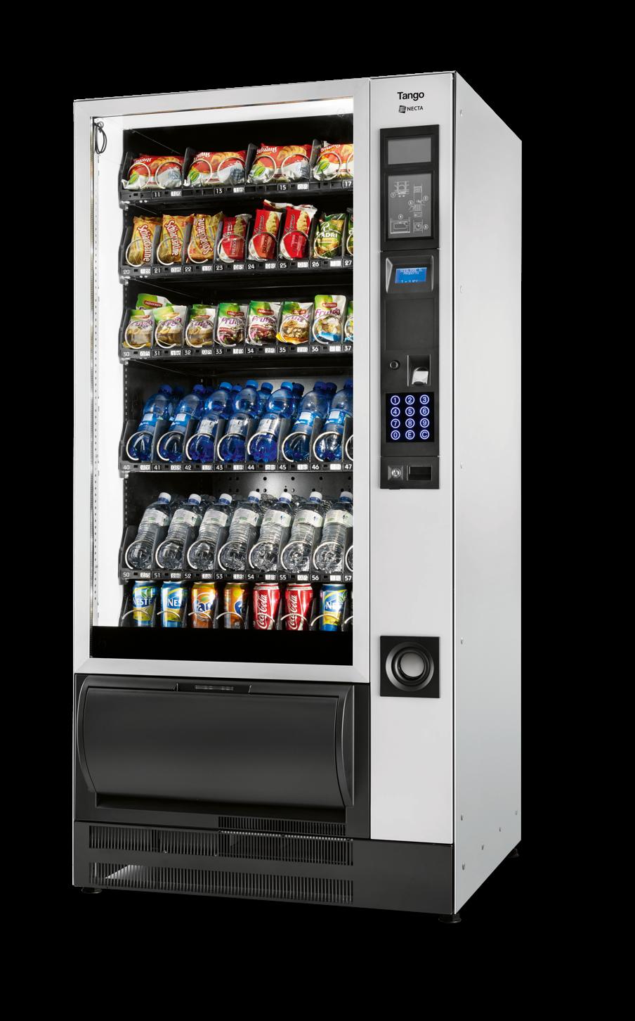 Maquina Expendedora Vending de Alimentos y Bebidas Frías: TANGO